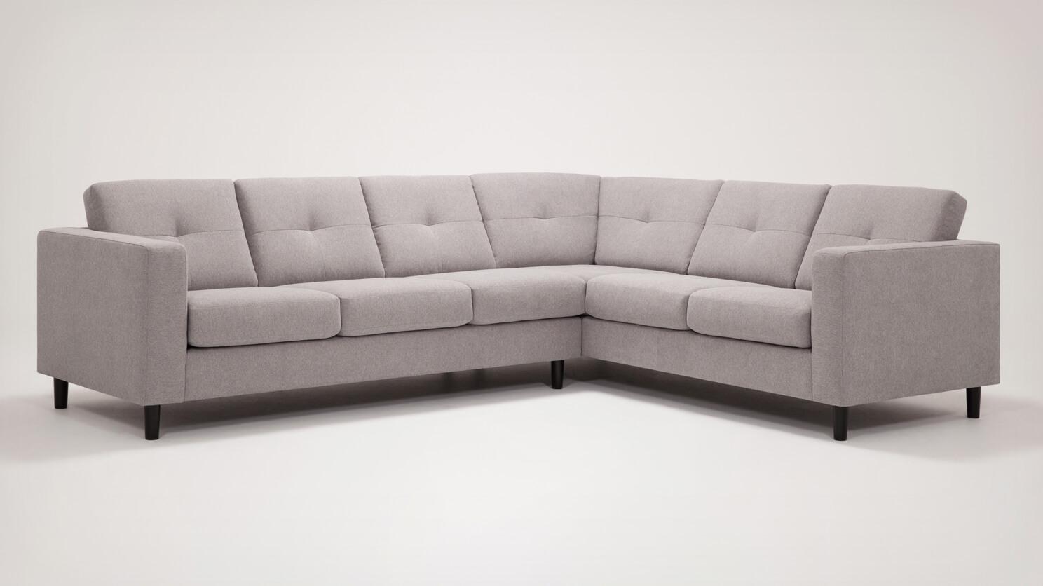 Solo 6-Seat Sectional Sofa - Fabric | EQ3